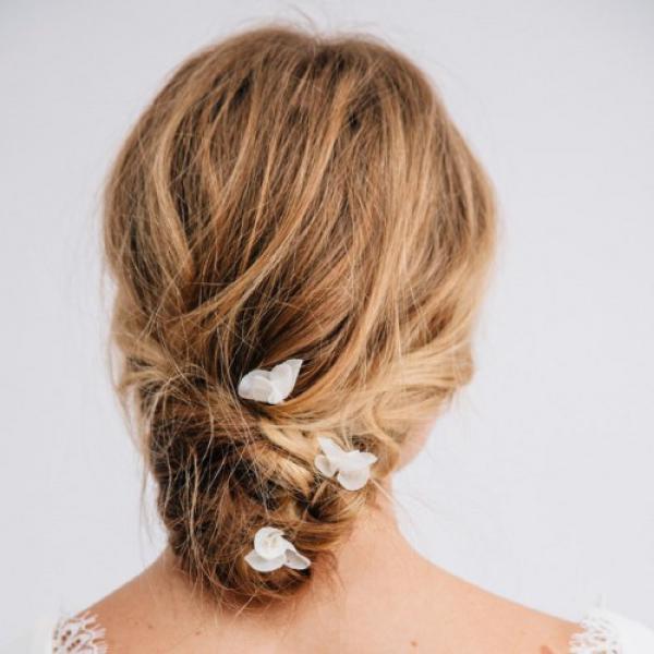Grace Hair Pin Ivory