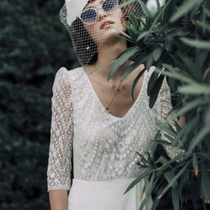 Wedding dress_Abbesses_Laure de Sagazan