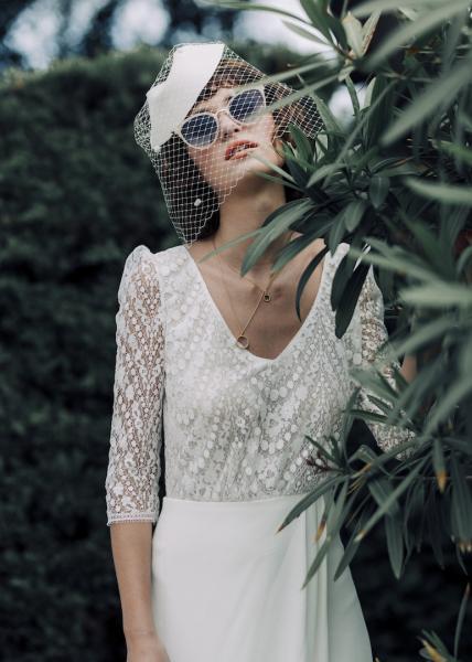 Wedding dress_Abbesses_Laure de Sagazan