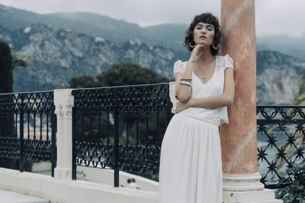 Constant top_Wedding dress_Laure de Sagazan