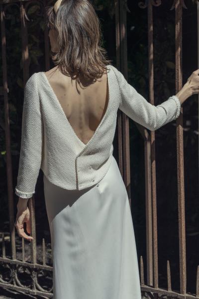 Top Tozzi_skirt Leonore_Laure de Sagazan_AYO Mariage